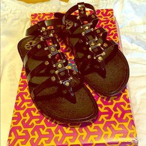 Tory Burch jelly gladiator sandals